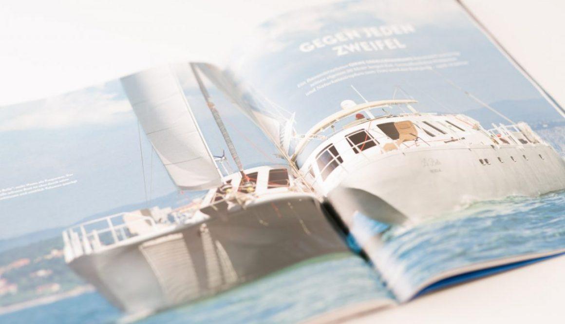 Katamaran Yacht Selbstbau Aluminium